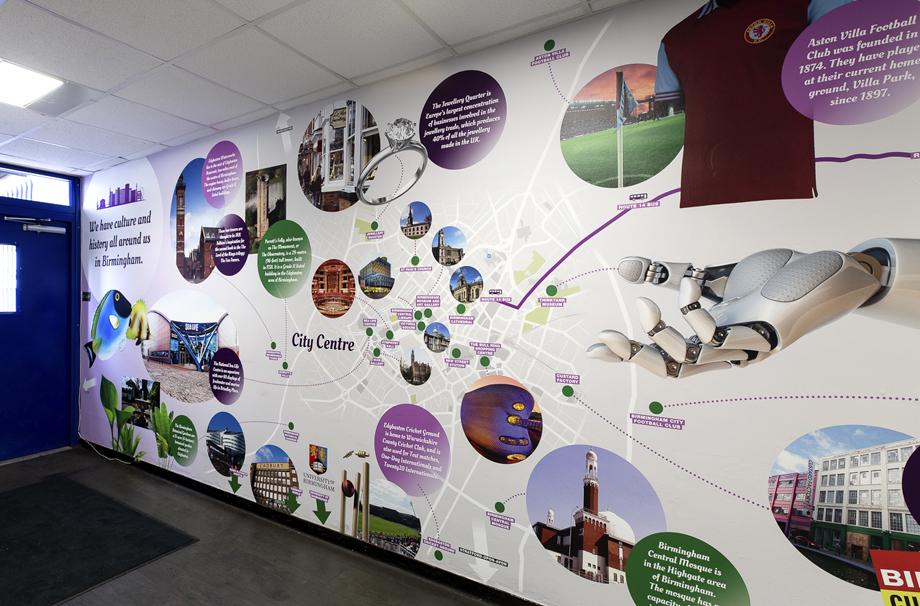 Washwood Heath Academy -  local area map