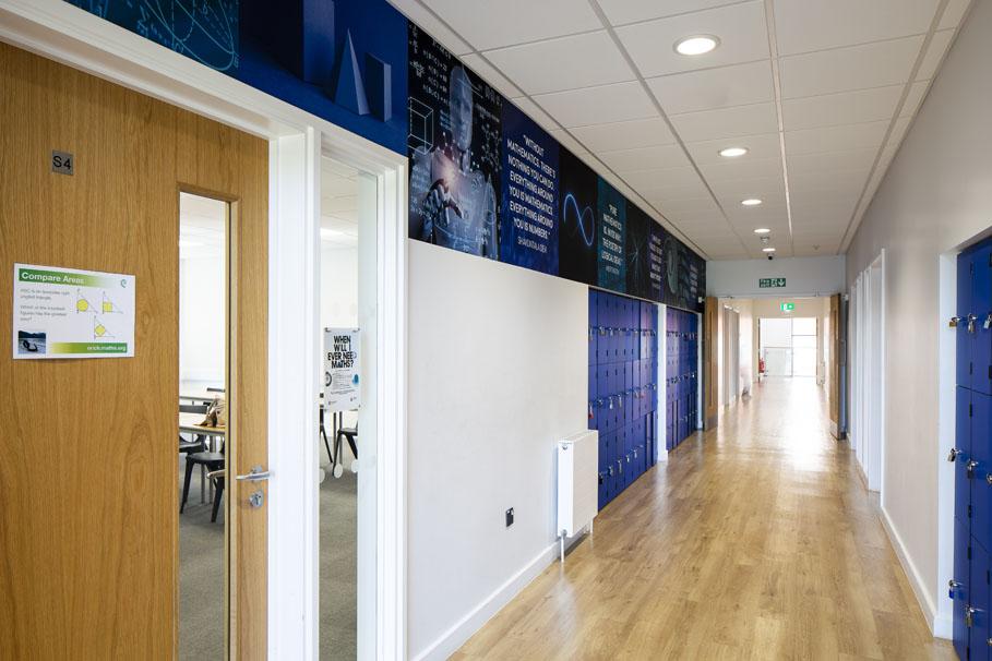 Corridor Mural For Schools