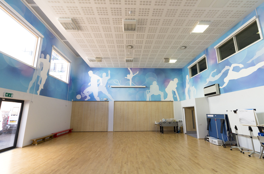College Park School - sports hall