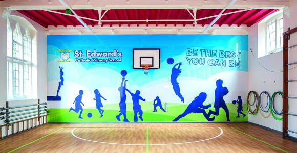 St Edward's Primary School - sports hall