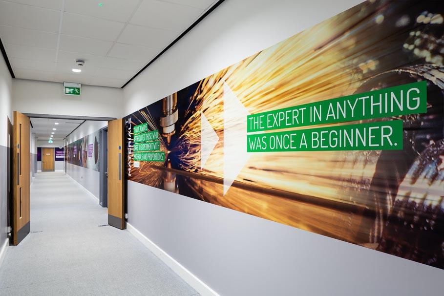 chertsey subject banner wall art materials