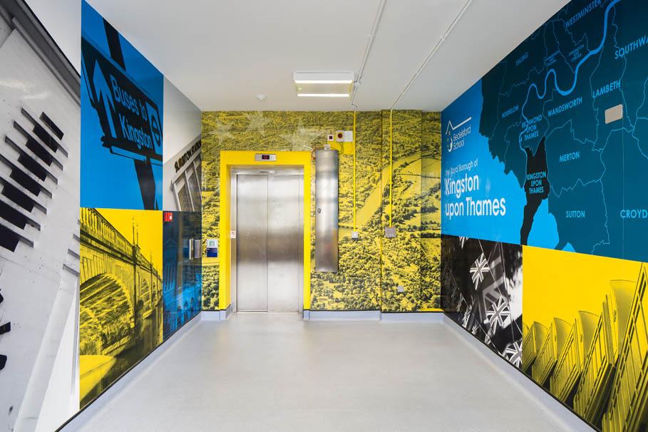 Bedelsford – local landmarks corridor