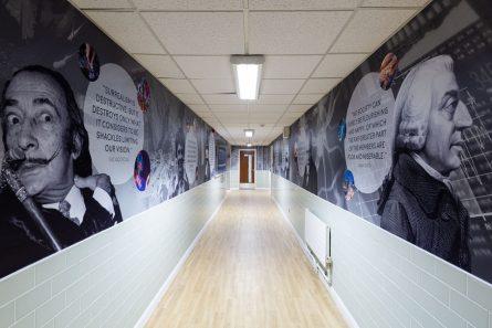 bishop challoner corridor