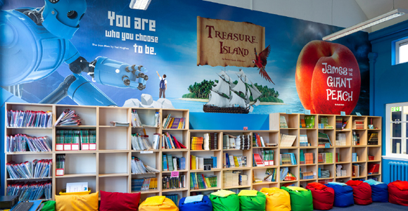 Thomas Arnold Primary School - Library