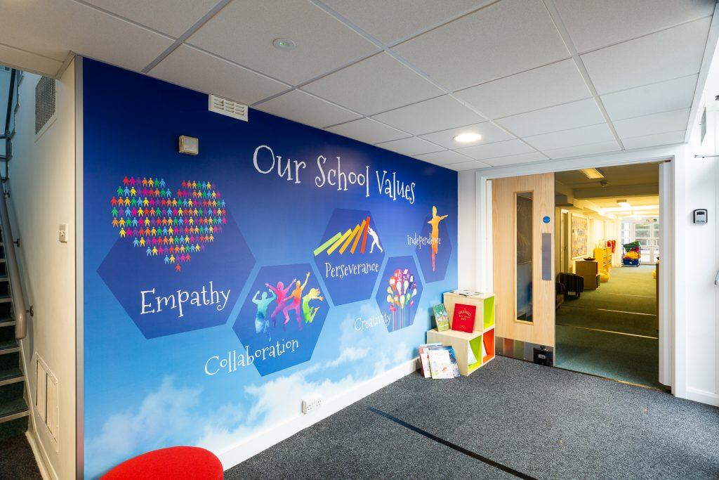 School Values Wall Art